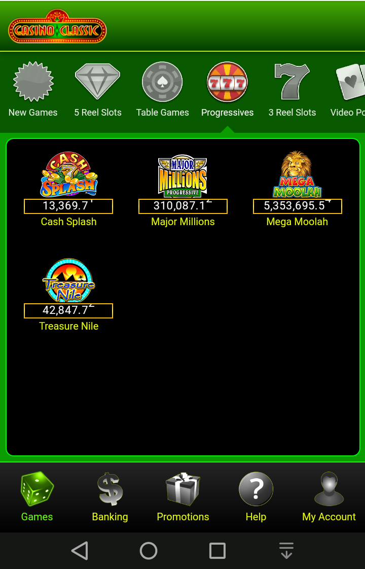 online mobile casino classic casino